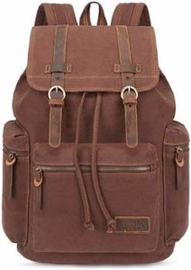 1 BLUBOON Canvas Vintage Backpack
