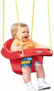 3. Little Tikes High Back Baby Toddler Swing