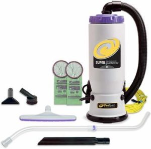 4 ProTeam Backpack Vacuums