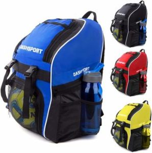 4. Soccer Basketball Backpack with Ball Compartment