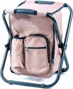 5 One Savvy Girl Backpack Cooler Chair
