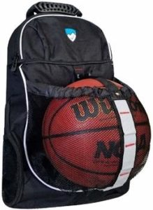 6. Hard Work Basketball Sports Backpack with Compartment
