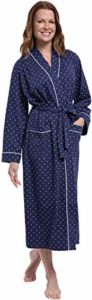 #2 PajamaGram Long Women's Cotton Robes