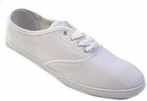 2. Shoes 18 Womens Canvas Shoes Lace up Sneakers