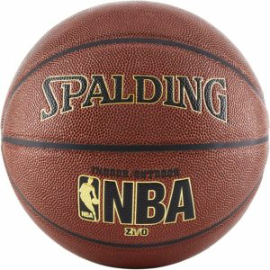 4. Spalding NBA Zi O Indoor Outdoor 29.5-Inch Basketball