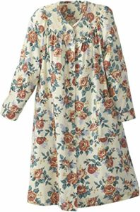 #5 National Floral Flannel Duster