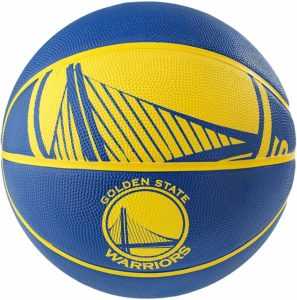 #6. Spalding NBA Courtside Outdoor Team Rubber Basketball