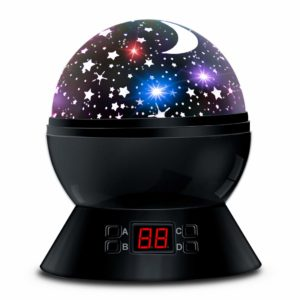 #6. Star Sky Night Lamp, 360 Degree ANTEQI Rotating Cosmos Star