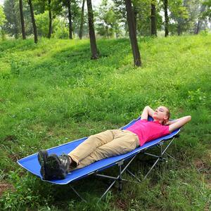 7. KingCamp Stable Folding Camping Bed Cot