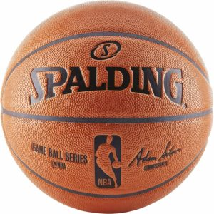 #7. Spalding NBA Replica Ball for IndoorOutdoor Game