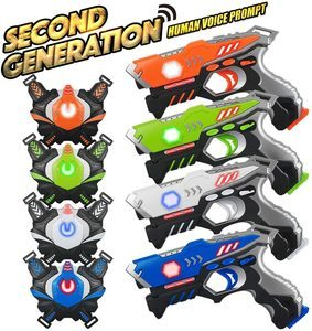 #10 Laser Tag Guns Sets 4 Pack