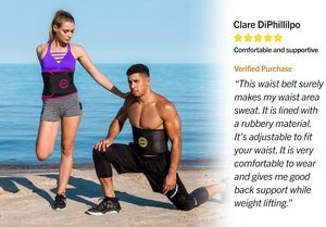 2. TNT Pro Series Waist Trimmer for Women and Men
