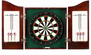 6. Centerpoint Solid Wood Dartboard Cabinet
