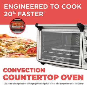 9. Black+Decker TO3210SSD 6-Slice Convection Toaster Oven