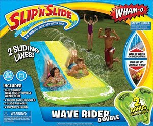 3. Wham-O Slip N Slide Wave Rider Double With 2 Slide Boogies