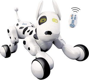 4. Dimple Interactive Robot Puppy With Wireless Remote Control