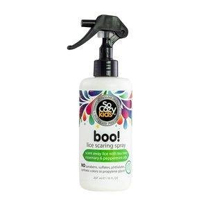 5. SoCozy Boo! Lice Scaring Spray For Kids Hair