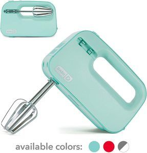 3. Dash Smart Store Compact Hand Mixer
