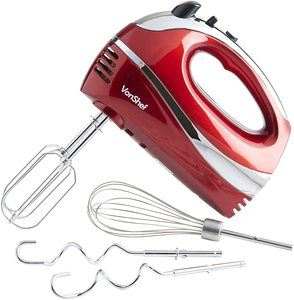 5. VonShef 250W Hand Mixer Whisk With Chrome Beater
