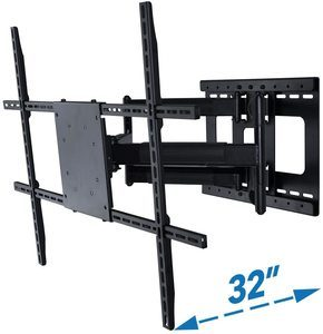 7. Full Motion TV Wall Mount with 32 inch Long Extension