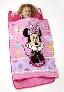 #2 Disney Minnie Mouse Toddler Rolled Nap Mat